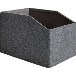 Box Nadin Nadin - Dunkelgrau, Textil (36/23,5/23cm) - Mömax modern living