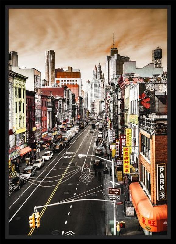 Bild Denise,71x98,5x4cm - Multicolor/Schwarz, MODERN, Holzwerkstoff/Papier (71/98,5/4cm) - Mömax modern living