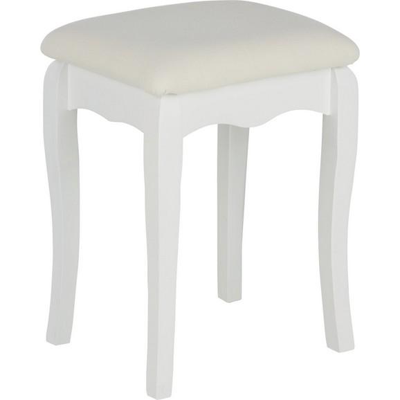 hocker in wei online kaufen m max. Black Bedroom Furniture Sets. Home Design Ideas