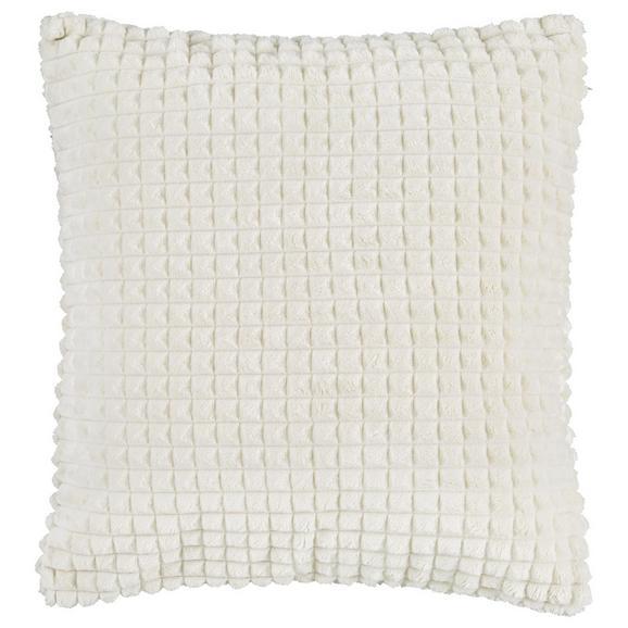 Kissenhülle Mary in Weiß ca. 45x45cm - Weiß, MODERN, Textil (45/45cm) - Mömax modern living