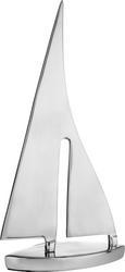 Okrasna Ladja Mara - srebrna, kovina (19/5,5/37cm)