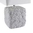 Tischleuchte Demian in Grau max.25 Watt - Grau, LIFESTYLE, Keramik (14,5/28/14,5cm) - Modern Living