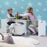 Kindersitzgruppe Melly inkl.stauraum &tafeloberfläche - Weiß, MODERN (80/46/45cm) - MÖMAX modern living