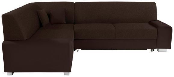 Funkcijska Sedežna Ganritura Miami - aluminij/temno rjava, Moderno, umetna masa/tekstil (210/260cm) - Mömax modern living