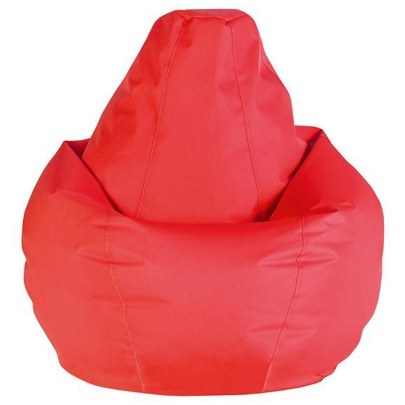 Sac De Şezut Soft L - roșu, Modern, textil (120cm) - Modern Living