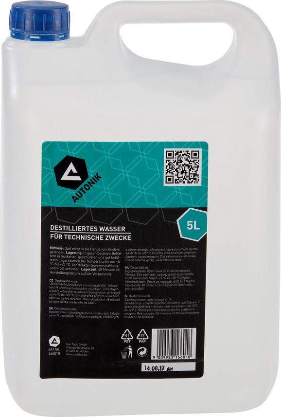 Destilliertes Wasser 5 Liter Kanister - KONVENTIONELL (5l)
