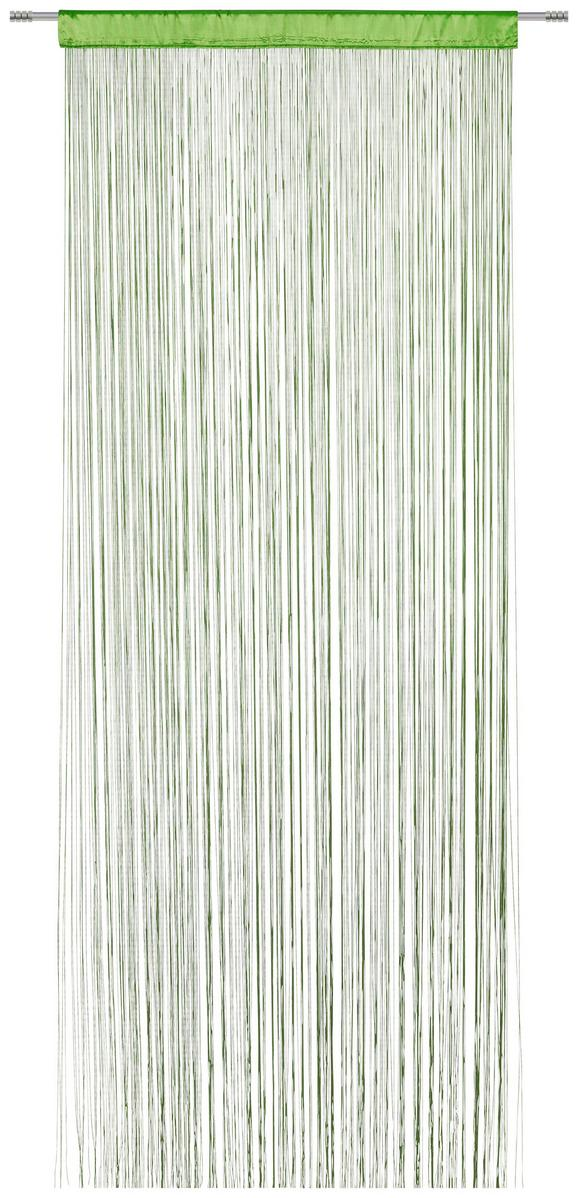 Fadenstore Victoria ca. 90x245cm - Grün, Textil (140/245cm) - MÖMAX modern living