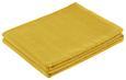 Überwurf Solid One Gelb 140x210 cm - Gelb, Textil (140/210cm)