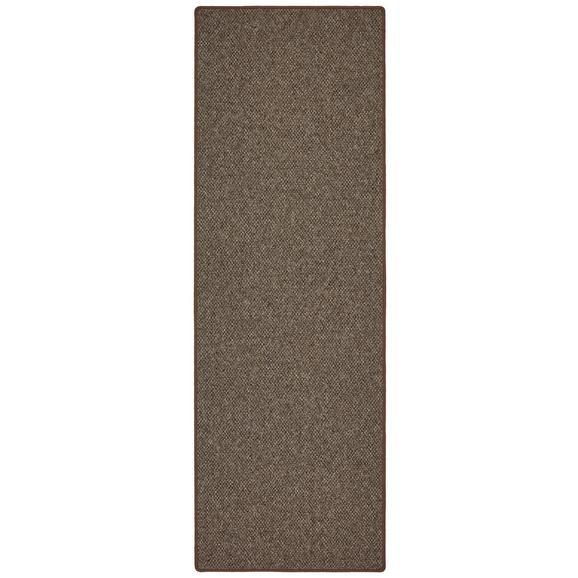 Läufer Seattle in Braun ca. 70x200cm - Braun, Basics, Textil (70/200cm) - Modern Living