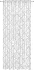 Končana Zavesa Charles - bela, Trendi, tekstil (140/245cm) - Mömax modern living