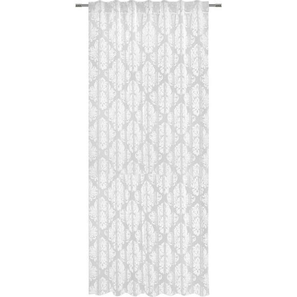 Zavesa Z Zankami Charles - bela, Trendi, tekstil (140/245cm) - Mömax modern living