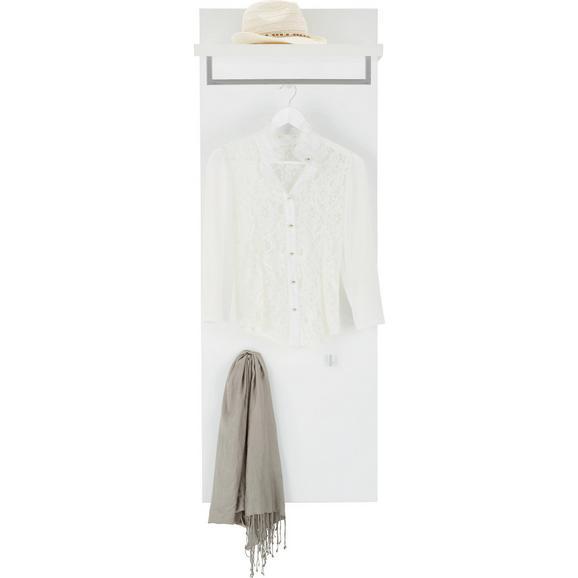 garderobenpaneel in wei online kaufen m max. Black Bedroom Furniture Sets. Home Design Ideas