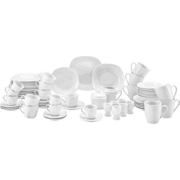Serviciu De Masă Complet Vera - alb, ceramică (43/32/29cm) - Modern Living