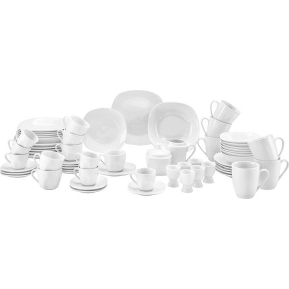 Serviciu De Masă Complet ''vera'' - alb, Konventionell, ceramică - Mömax modern living