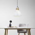 Pendelleuchte Harvey - Weiß, MODERN, Metall (40/40/120cm) - Mömax modern living