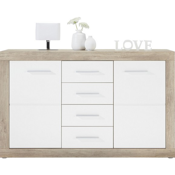 kommode in wei canyon grey online kaufen m max. Black Bedroom Furniture Sets. Home Design Ideas