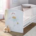 Gitterbett in Weiß ca. 70x140cm - KONVENTIONELL, Holzwerkstoff (70/140cm) - Premium Living