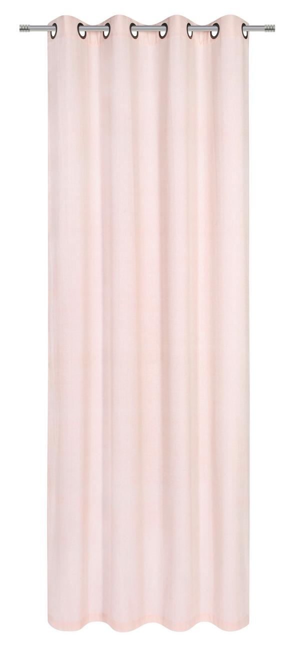 Ösenschal Noah in Rosa, ca. 140x250cm - Rosa, ROMANTIK / LANDHAUS, Textil (140/250cm) - Mömax modern living