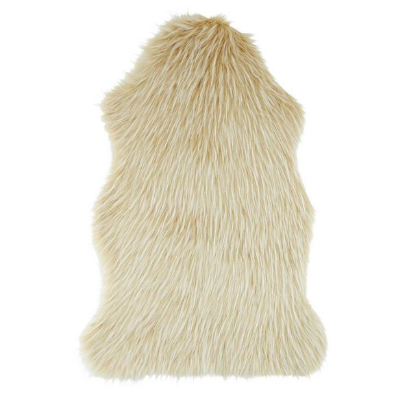 Schaffell Marina Creme/Weiß - Creme/Weiß, Textil (60cm) - Modern Living