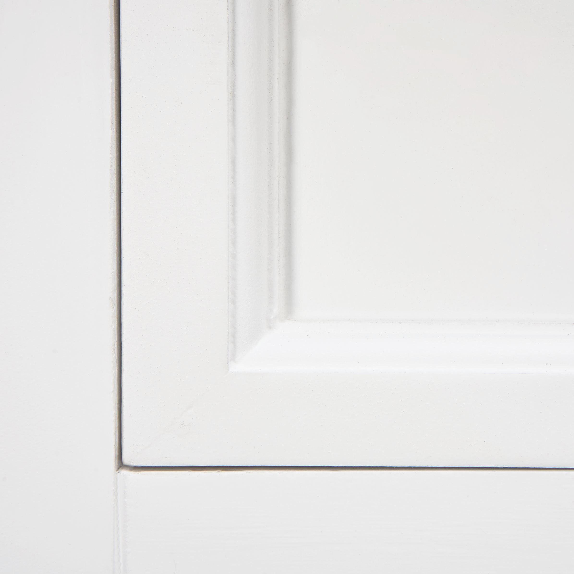 Sideboard Cookie - Braun/Weiß, Holz/Metall (120/88/37cm) - PREMIUM LIVING