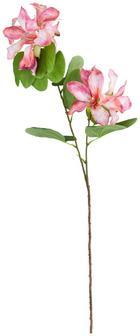 Dekorág Helena - Rózsaszín/Zöld, romantikus/Landhaus, Műanyag (87cm)