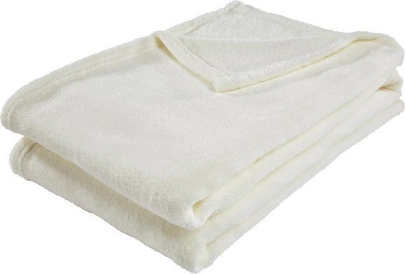 Pătură Pufoasă Kuschelix - Alb, Material textil (140/200cm)