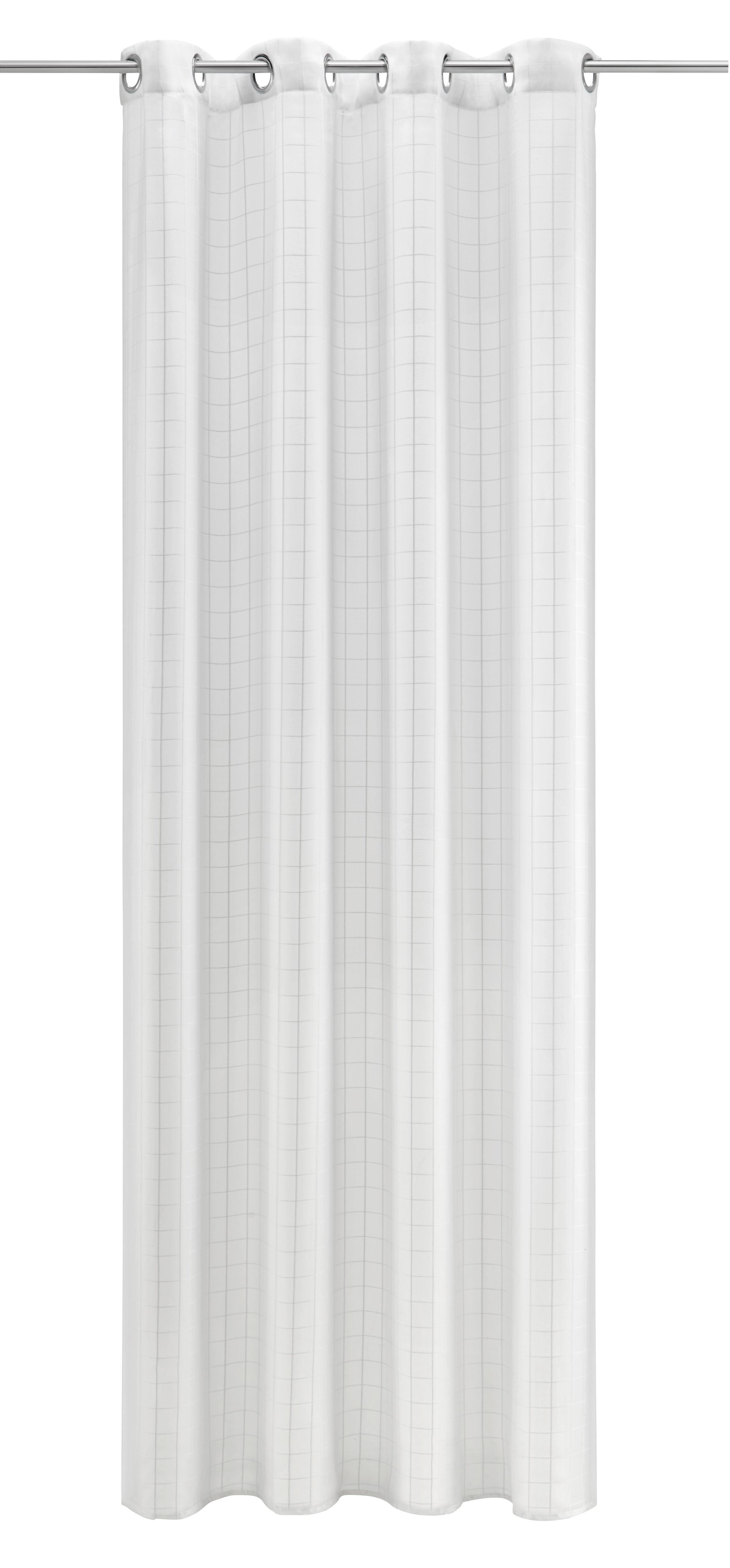 Gardinenschal Eileen 140x245cm - Weiß, MODERN, Textil (140/245cm) - MÖMAX modern living