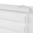Duorollo Thomas in Weiß ca. 60x160cm - Weiß, Kunststoff/Textil (60/160cm) - Mömax modern living