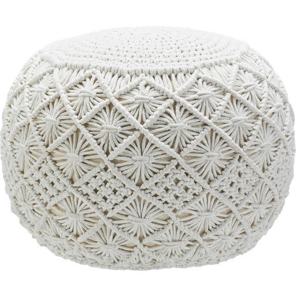 pouf julie in natur ca 50x35x50cm online kaufen m max. Black Bedroom Furniture Sets. Home Design Ideas