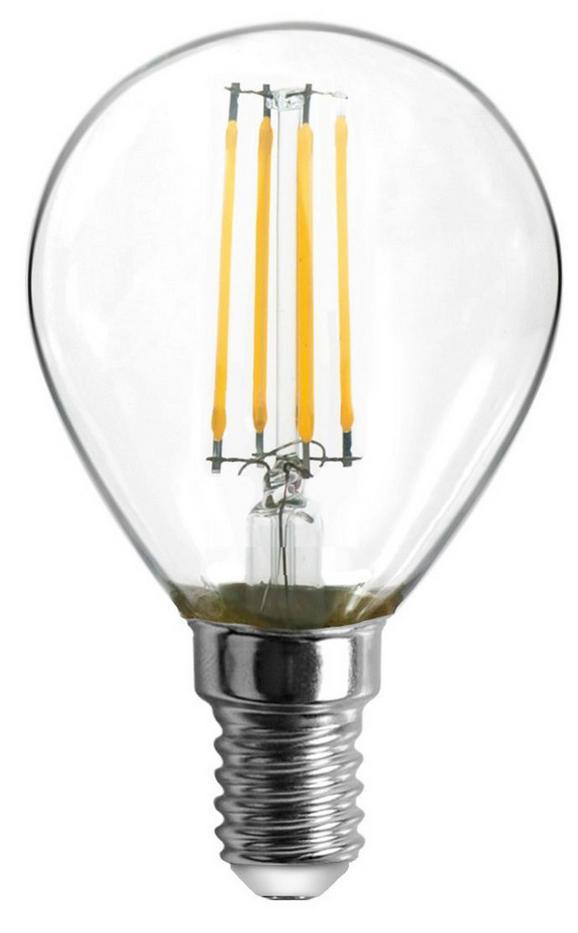Led-žarnica 10585-2k - prozorna, kovina/steklo (4,5/8cm)