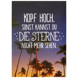 Postkarte Statements in Schwarz - Multicolor, Papier (10,5/14,8cm) - VS Visual Statements