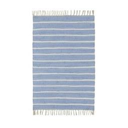 Handwebeteppich Toni in Blau, ca. 60x120cm - Blau, MODERN, Textil (60/120cm) - Mömax modern living