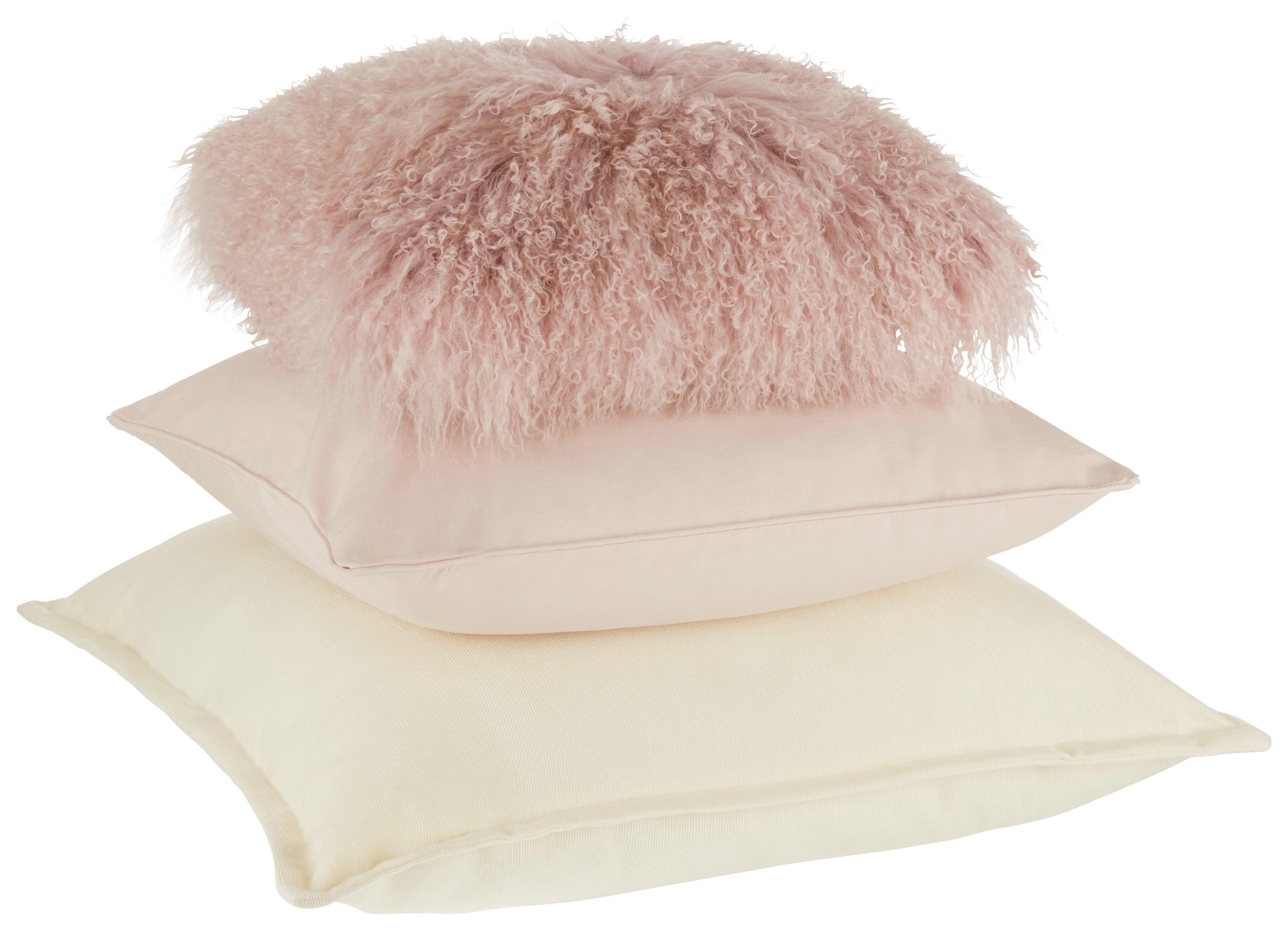 Díszpárna Shaun - rózsaszín, textil (40/40cm) - premium living