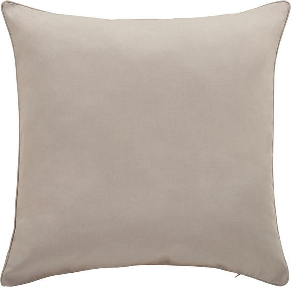 Kissenhülle Steffi Paspel, ca. 50x50cm - Hellgrau, Textil (50/50cm) - MÖMAX modern living