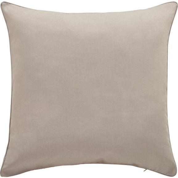 Kissenhülle Steffi Paspel ca. 50x50cm - Hellgrau, Textil (50/50cm) - Mömax modern living