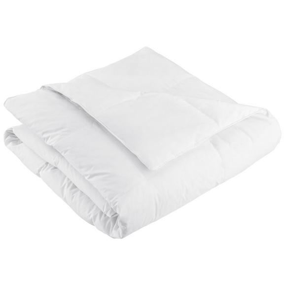 Plapumă Matlasată În Carouri Modern Mittel - alb, textil (135-140/200cm) - Nadana