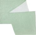 Nadprt Ameline - svetlo zelena, Romantika, tekstil (45/150cm) - Zandiara