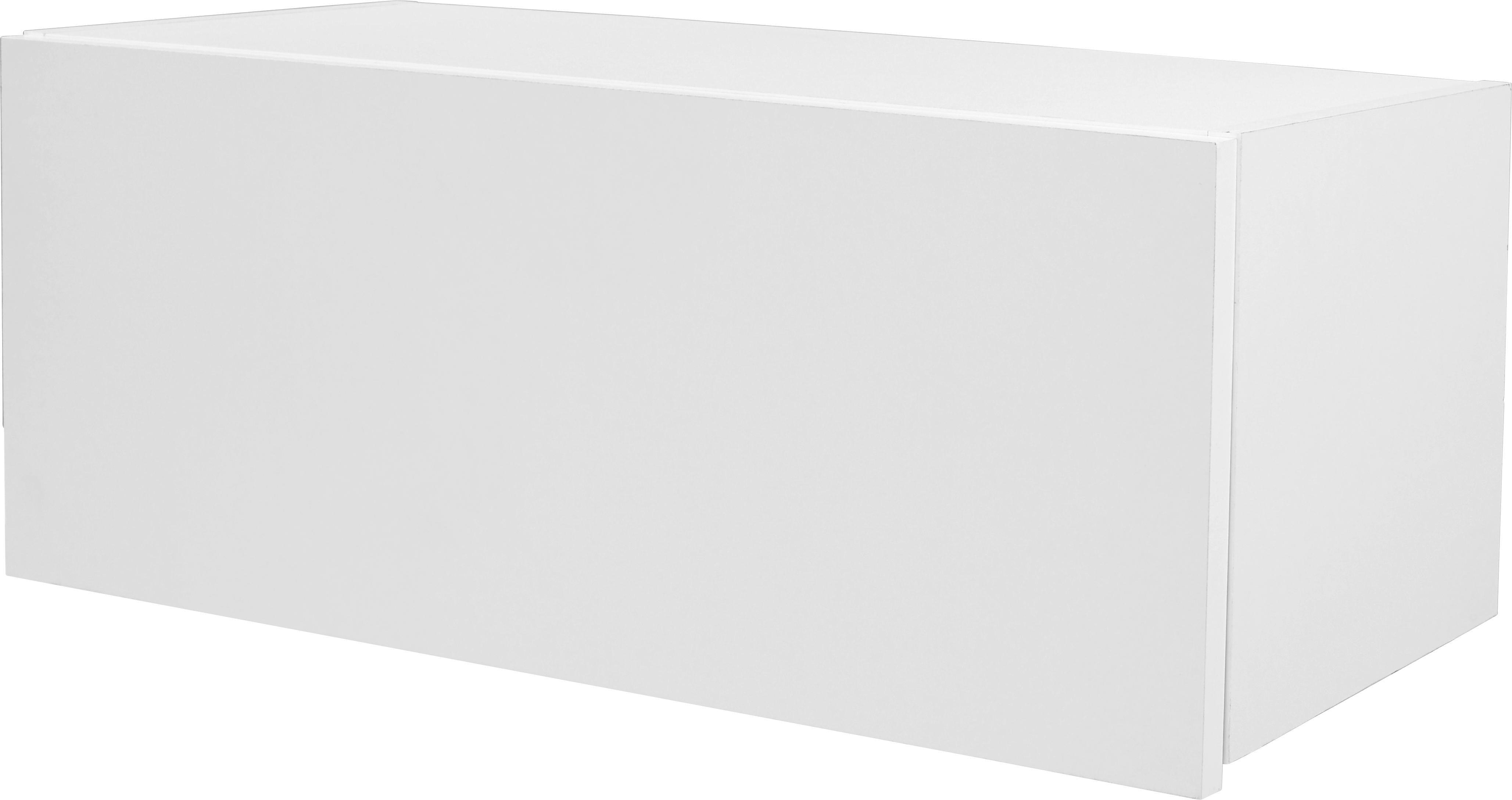 Falipolc Halma - fehér, modern, faanyagok (26,5/75/28cm)