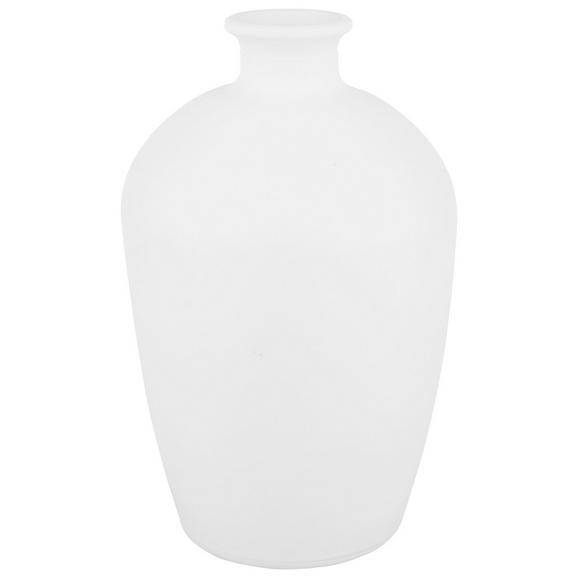 Vase Aurora verschiedene Farben - Weiß/Hellgrün, Basics, Glas (10,5/16,5cm) - Mömax modern living