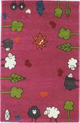 Otroška Preproga Rudi - roza, tekstil (80/120cm) - Mömax modern living
