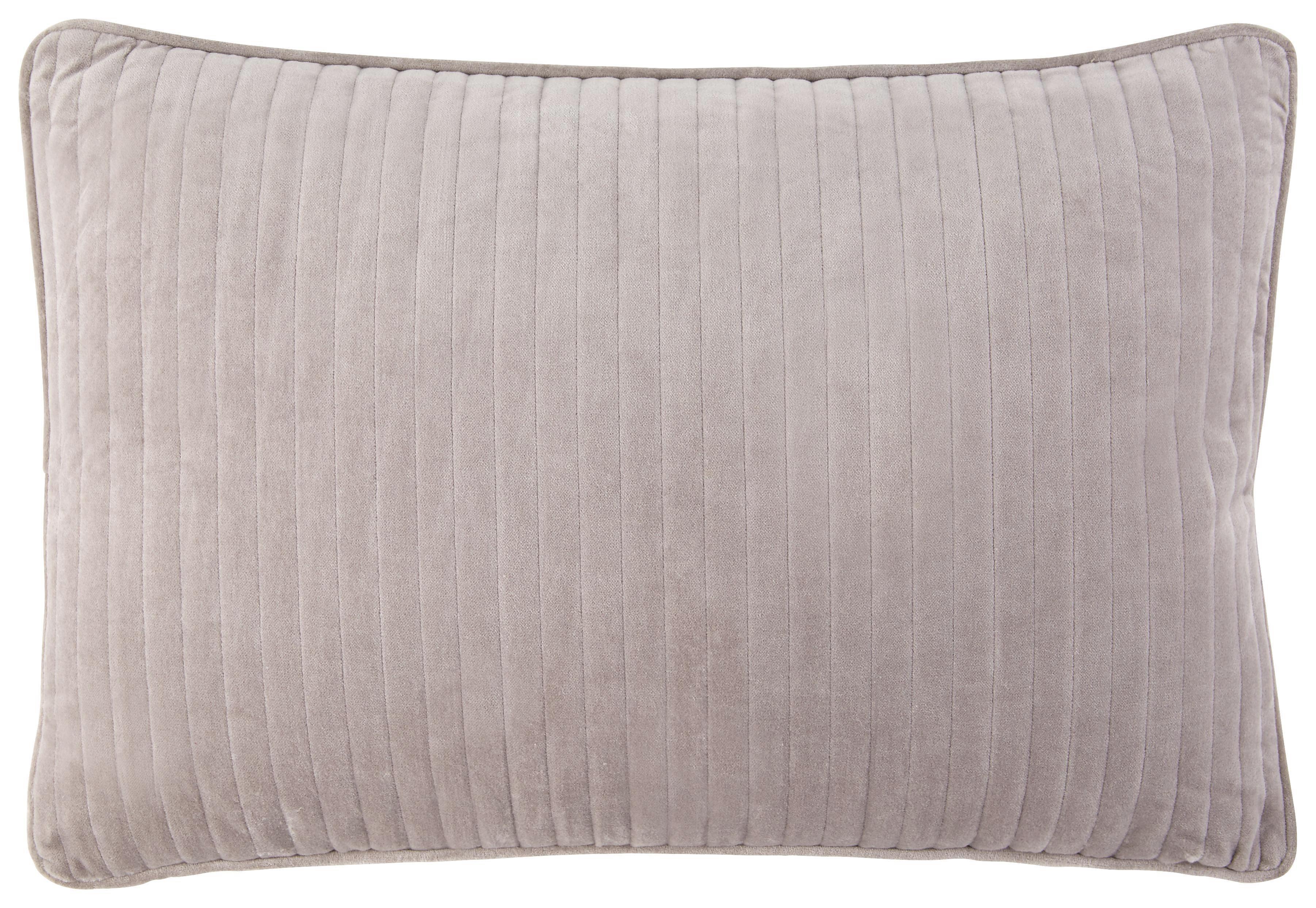 Díszpárna Elena - szürke, romantikus/Landhaus, textil (40/60cm) - MÖMAX modern living
