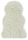Kunstfell Romy - Weiß, MODERN, Textil (60/95cm) - Mömax modern living
