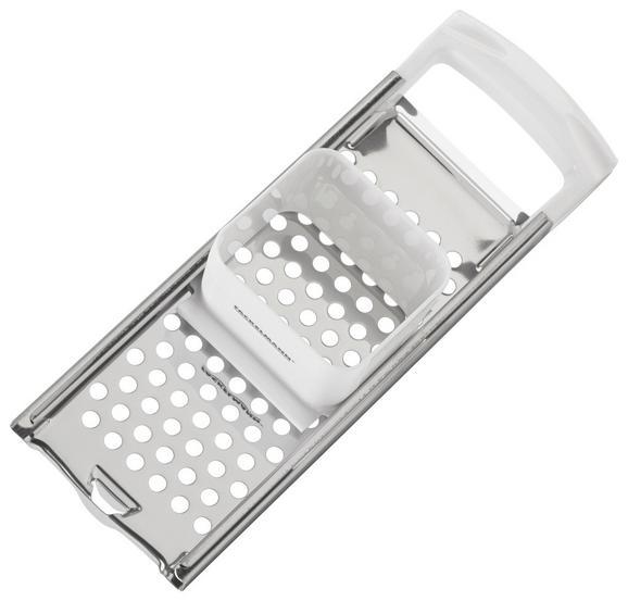 Spätzlehobel Kurz - Weiß, KONVENTIONELL, Kunststoff/Metall (33cm)