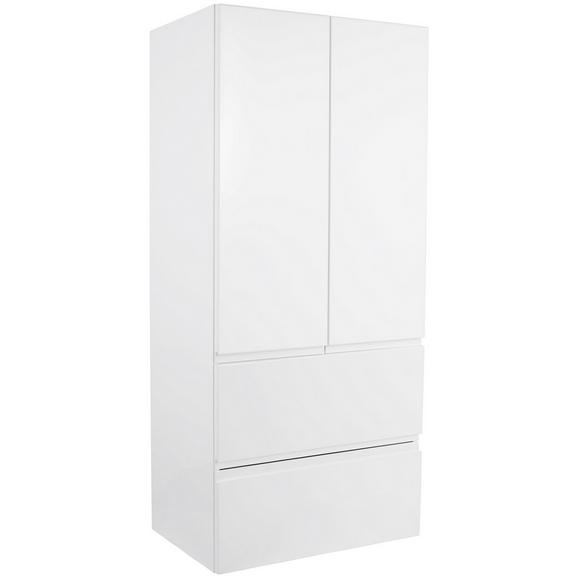 Srednje Visoka Omara Tress Ii - bela, Konvencionalno, leseni material (60/130/33,5cm) - Mömax modern living