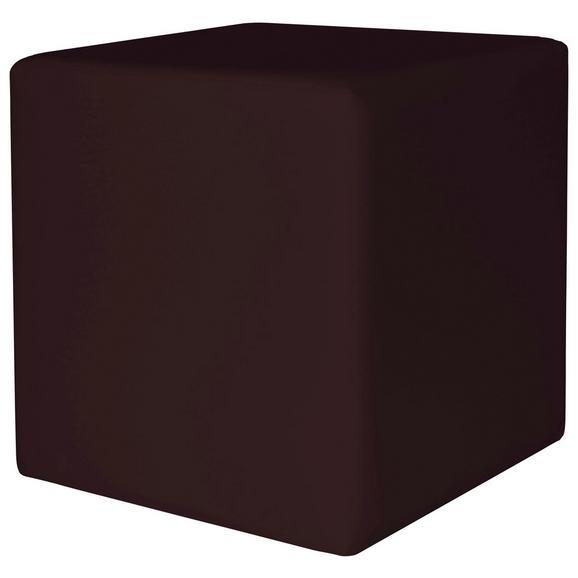 Taburet Colorfull Cube - negru, Modern, textil (40/40/42cm) - Mömax modern living