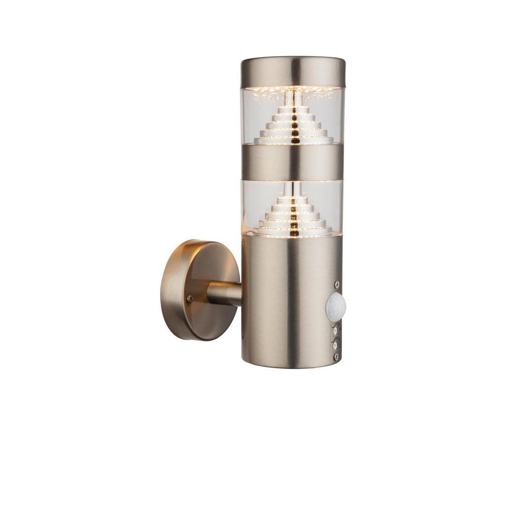 LED-Außenwandleuchte max. 11,5 Watt mit Bewegungsmelder