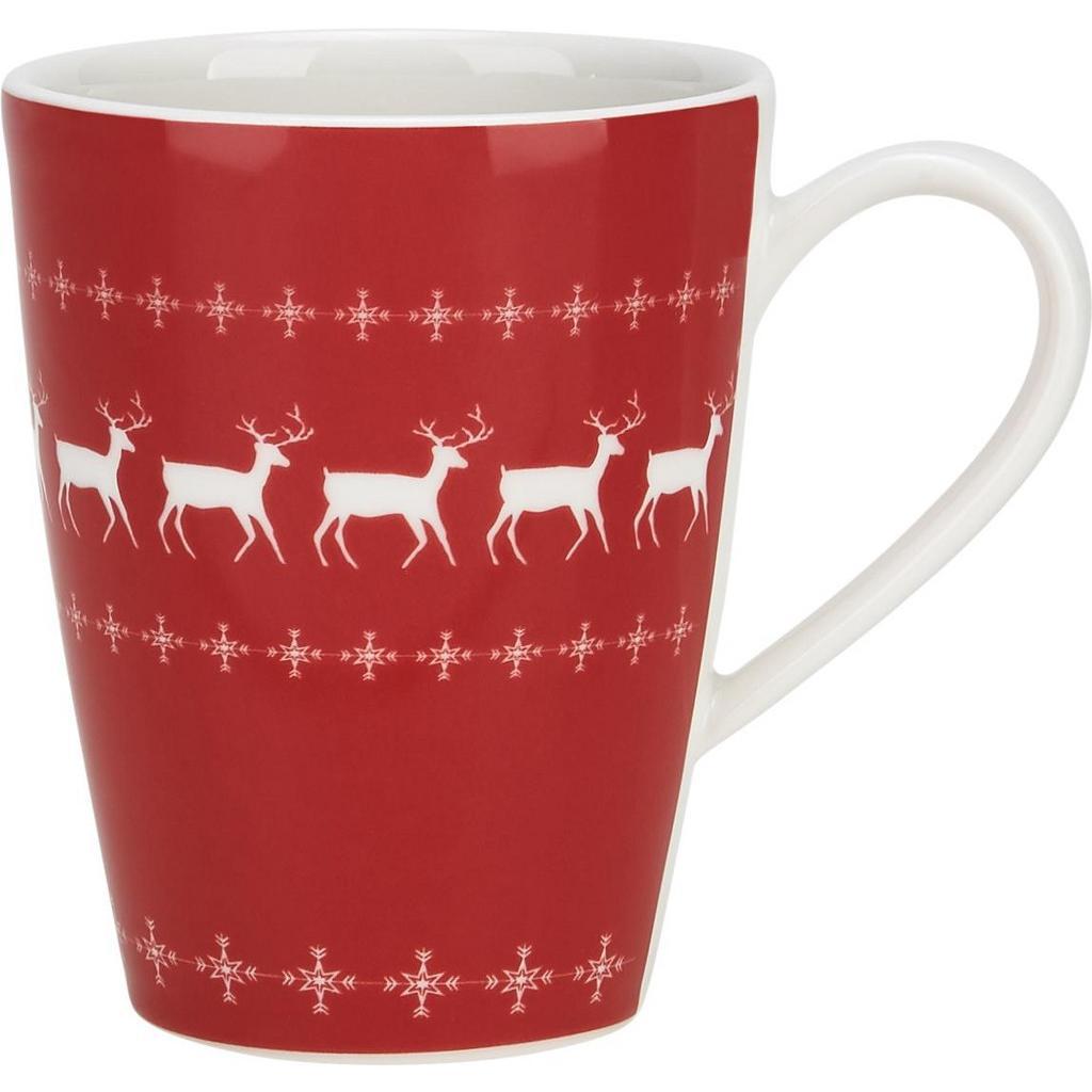 """Kaffeebecher aus Porzellan 30 ml """"X-Mas"""""""