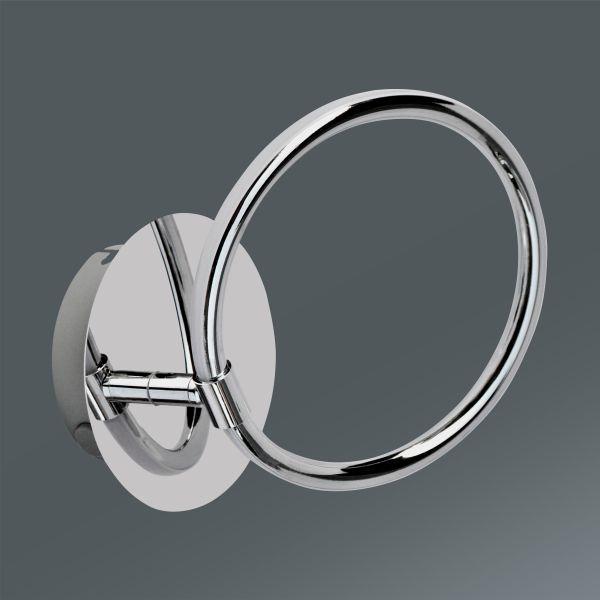 LED-Wandleuchte Alisia, max. 5 Watt - MODERN, Kunststoff/Metall (12,1/19cm) - INSIDO