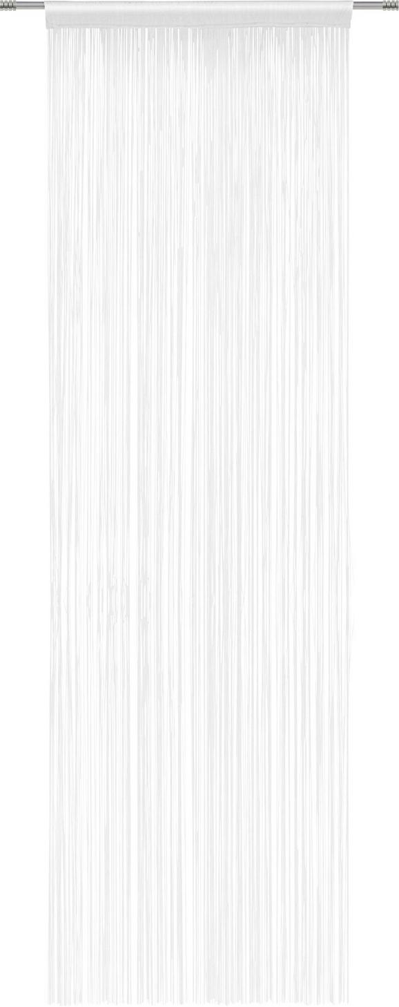Nitasta Zavesa Victoria -top- - bela, tekstil (90/245cm) - Mömax modern living