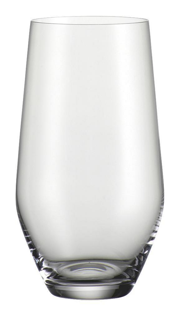 Kozarec Norma - prozorna, Moderno, steklo (0,42l) - Bohemia